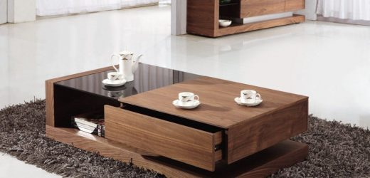 How to protect your wood and glass coffee tables?